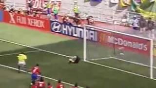 Copa 2002: Brasil 5x2 Costa Rica