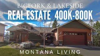 Bigfork & Lakeside Montana Real Estate - Homes between $400,000-$800,000 in 2021