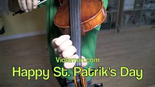Learn Danny Boy on the Viola by violaman.com