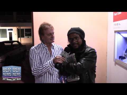 Maxi Priest Arrive In Bermuda, October 12 2015