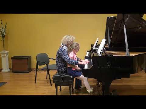 23.02.2018 Mira Marchenko's master-classes. Maria Kinder. Schmitt Music, Kansas City, USA.