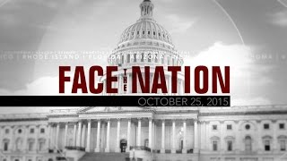 Open: This is Face the Nation, October 25
