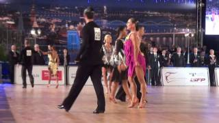 00002 Baltic Grand Prix 18.12.2016, WDSF International Open Latin - ABORA Cup 1/2 F