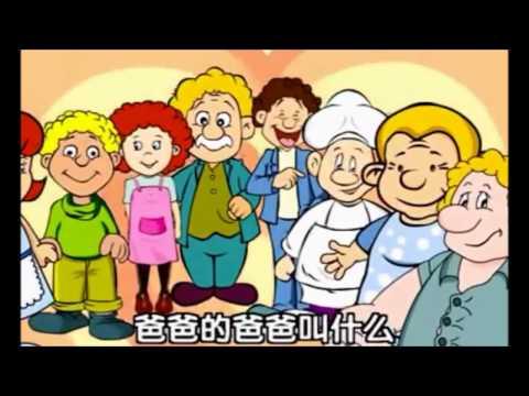 สื่อการสอน ชุด คำศัพท์หมวดครอบครัวภาษาจีน