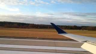 Canadair Regional Jet - CRJ-900 NextGen Landing Raleigh Durham Delta Connection November 18 2013