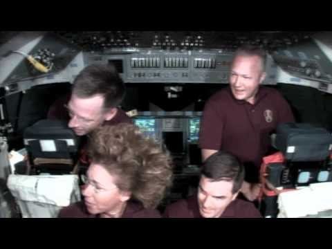 Atlantis Crew Members Speak with Reporters on the Last Day of their Mission