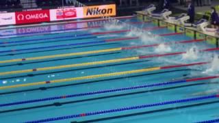 Women's 200m Medley Final Fina World Championships Windsor 2016