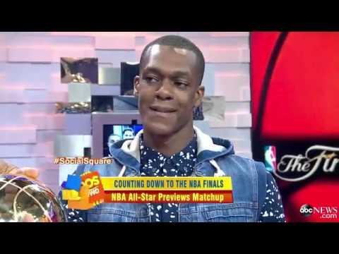 Rajon Rondo Gets Ready for NBA Final
