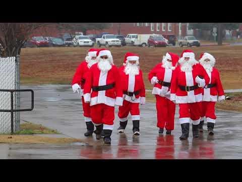 Santa Day at Arkansas Health Center