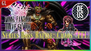 Series Boss Battle: Chaos (FFI) vs Ardyn! Easiest SBB Final Fantasy Brave Exvius Global | FFBE GL