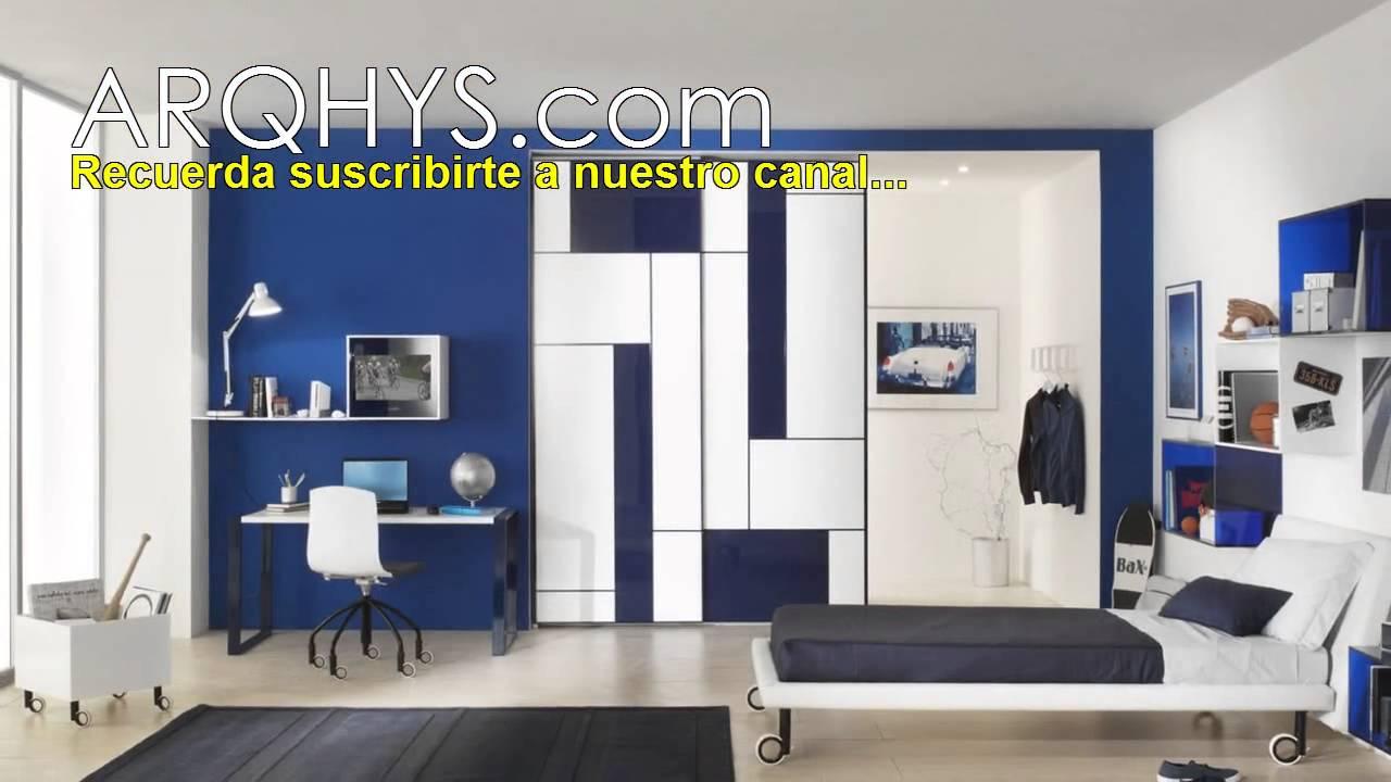 Dormitorios modernos para jovenes. Habitaciones y cuartos ...