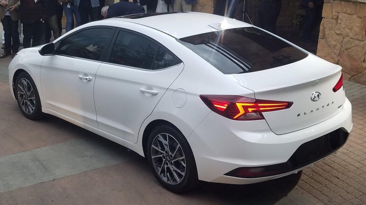 2019 Hyundai Elantra Interior Exterior And Drive