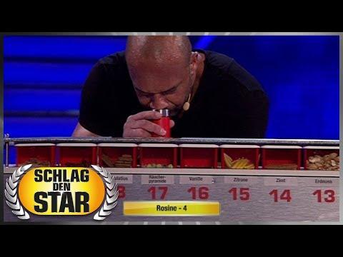 Spiel 9 - Riech-Duell - Schlag den Star