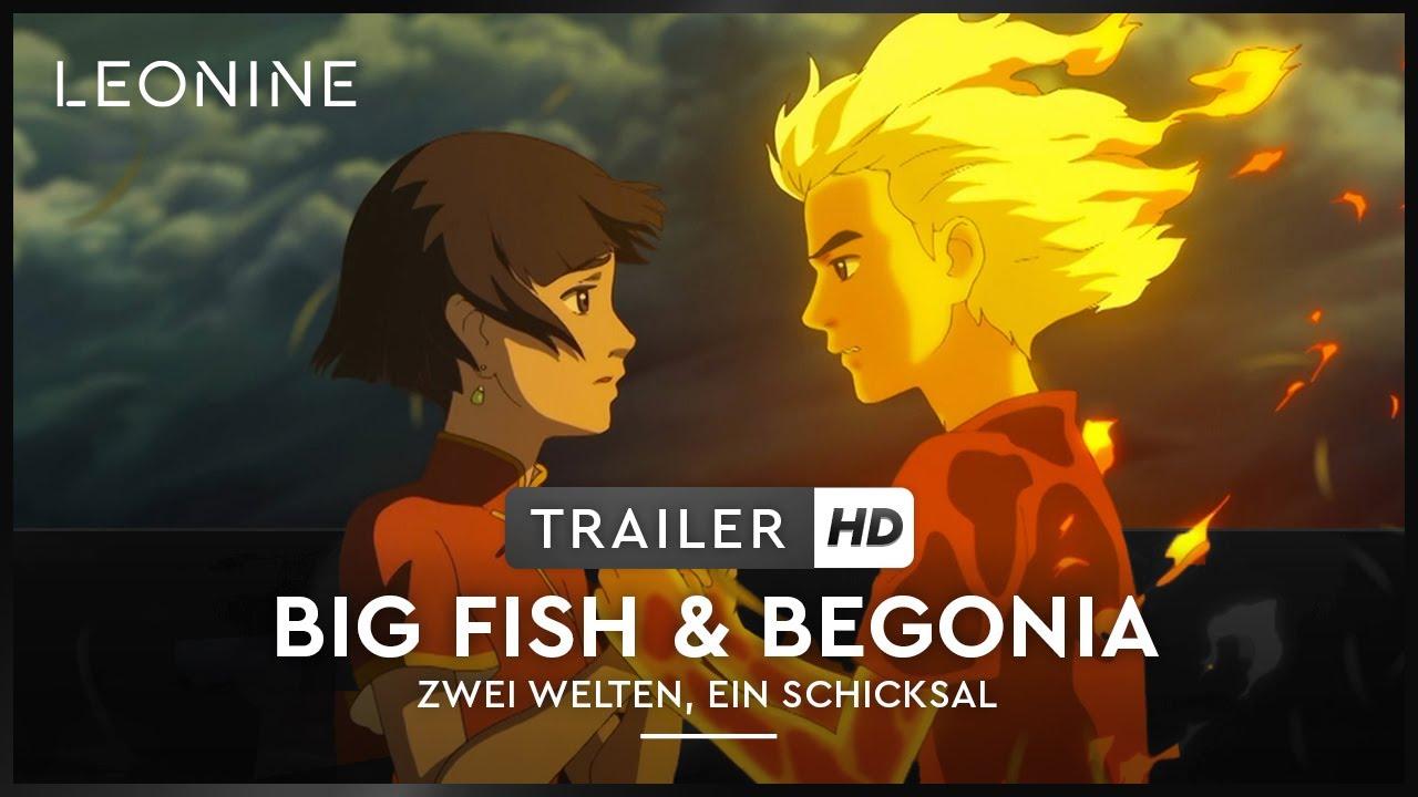 Big Fish & Begonia - Zwei Welten, Ein Schicksal - Trailer (deutsch/german; FSK 6)