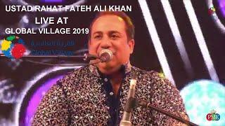 Tere Bin | Simmba | Ustad Rahat Fateh Ali Khan Live at Global Village 2019