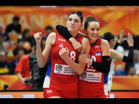 Maja Ognjenović - Queen of Serbia Team - FIVB Volleyball WCH 2018