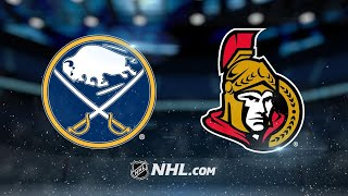 Hoffman scores in OT as Sens rally past Sabres, 3-2