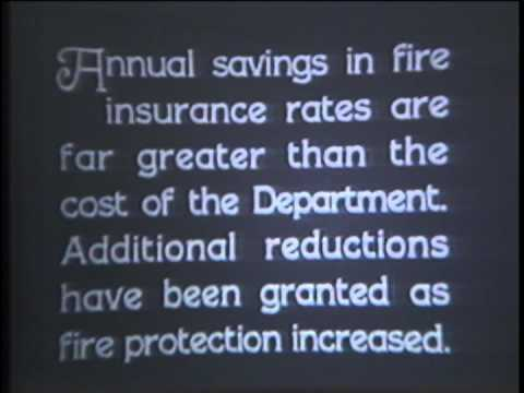 Kern County Fire Historical Footage