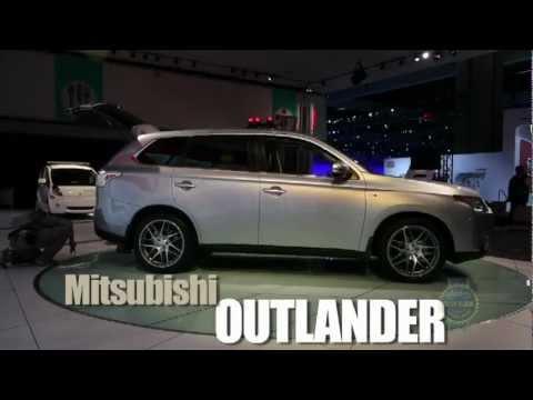 2014 Mitsubishi Outlander - 2012 Los Angeles Auto Show