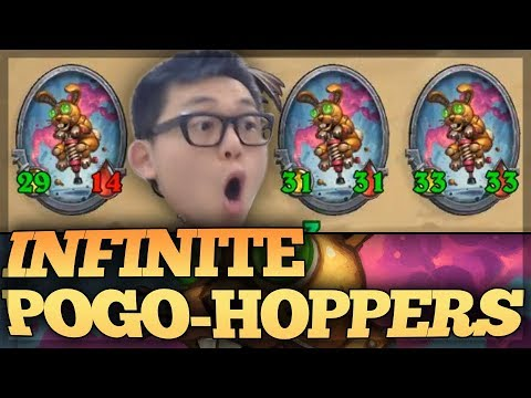 INFINITE POGO-HOPPERS WITH RUSH?!?!