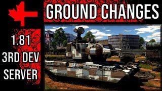 War Thunder 3rd Dev Server - Update 1.81 - New Ground Force Changes