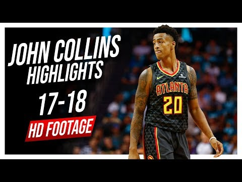 Hawks PF John Collins 2017-2018 Season Highlights ᴴᴰ