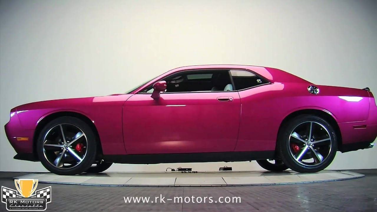 132104 2010 dodge challenger furious fuchsia youtube