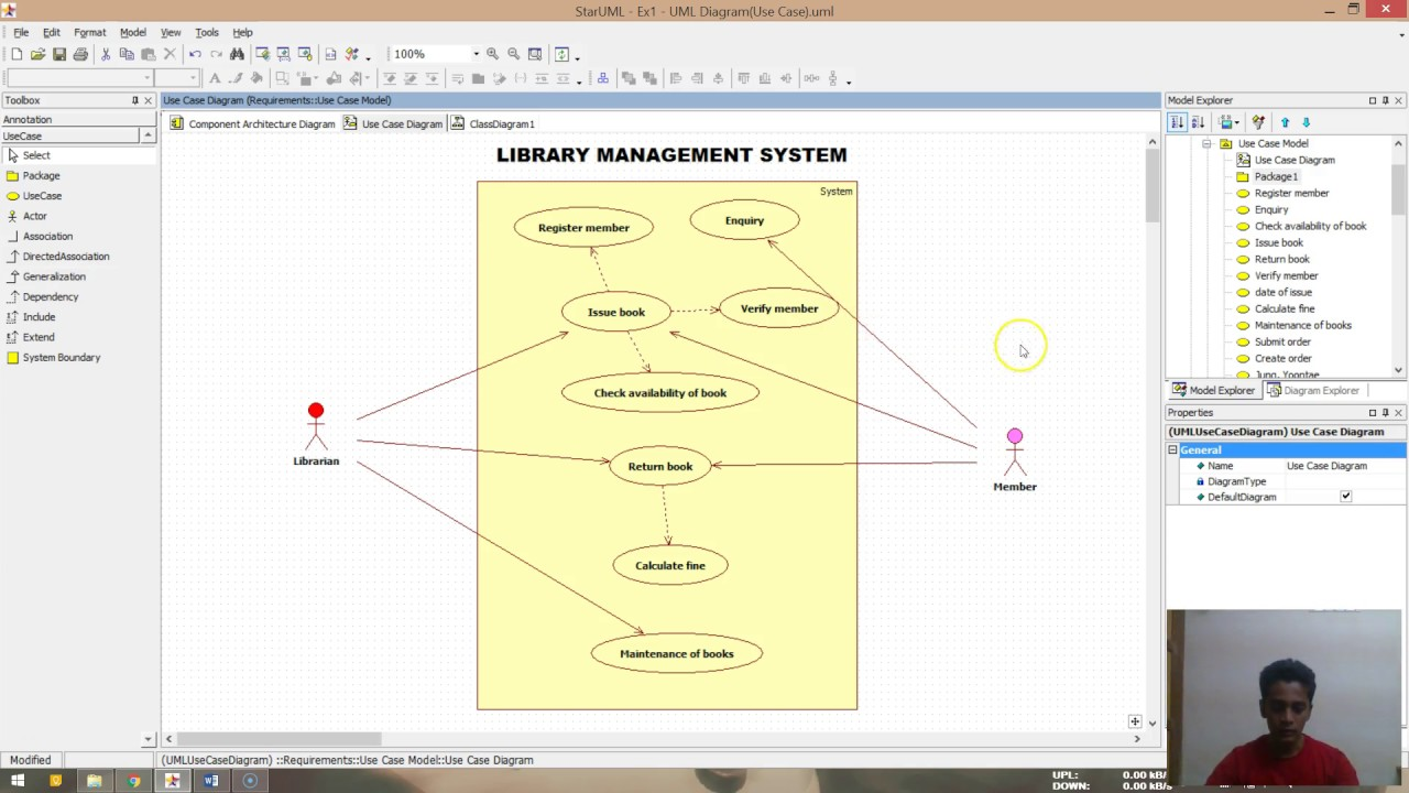 Ex1 use case diagram edited case tools lab youtube ex1 use case diagram edited case tools lab ccuart Images