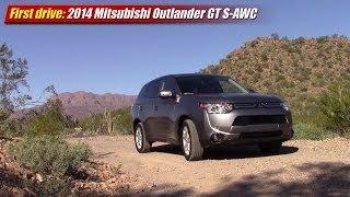 Mitsubishi Outlander GT 2014 Videos