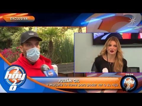 Julián Gil dejará de luchar legalmente por su hijo | Hoy