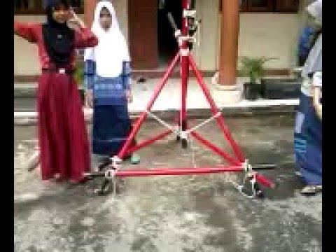 Video Pramuka Pembuatan Simpul Menara Pionering 8 Tongkat Juara Umum