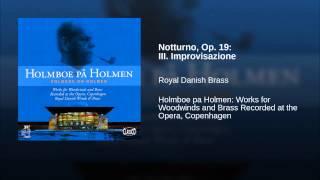 Notturno, Op. 19: III. Improvisazione