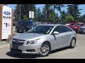 2011 Chevrolet Cruze Eco Manual W/ Sat Review |Island Ford