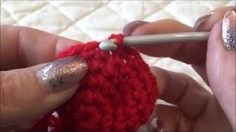Cuore amigurumi - crochet  tutorial #uncinetto10