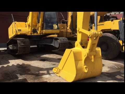 Used Komatsu Japan PC200 Excavator For Sale