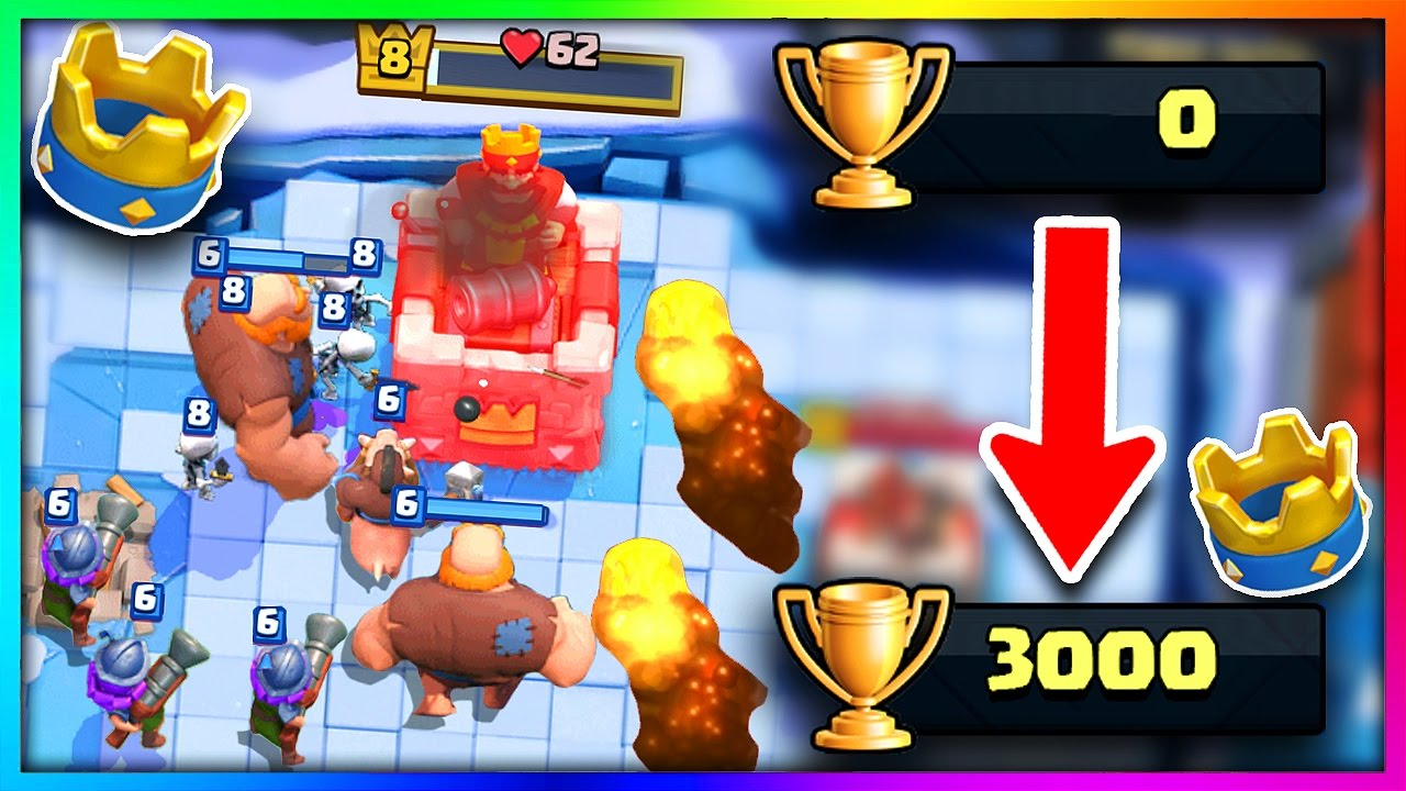 Use this deck if you suck in clash royale best deck 2017 for Clash royale deck arc x