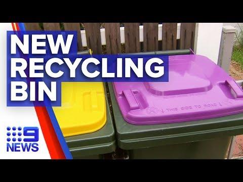 New bin unveiled in recycling overhaul | Nine News Australia