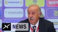 Vicente del Bosque sucht perfekten Kader   Ukraine - Spanien 0:1   EM-Qualifikation