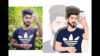 How To Draw Cartoon Vector Illustrator Faces In Android Mobile, Like Adobe Illustrator