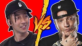 Ghali VS Guè Pequeno - Battaglia Rap Epica - Manuel Aski