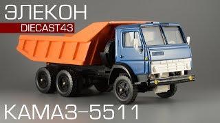 Сделано в СССР: КамАЗ-5511 [Элекон] обзор масштабной модели 1:43