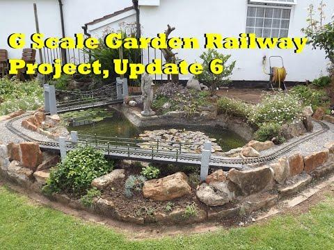 G Scale Garden Railway Project, Update 6