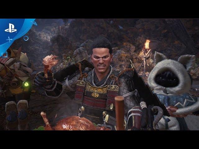 Monster Hunter: World - PS4 Gameplay | PS Underground