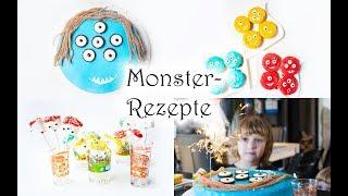 Rezepte für Monster-Geburtstag: Muffins, Cakepops und Kuchen