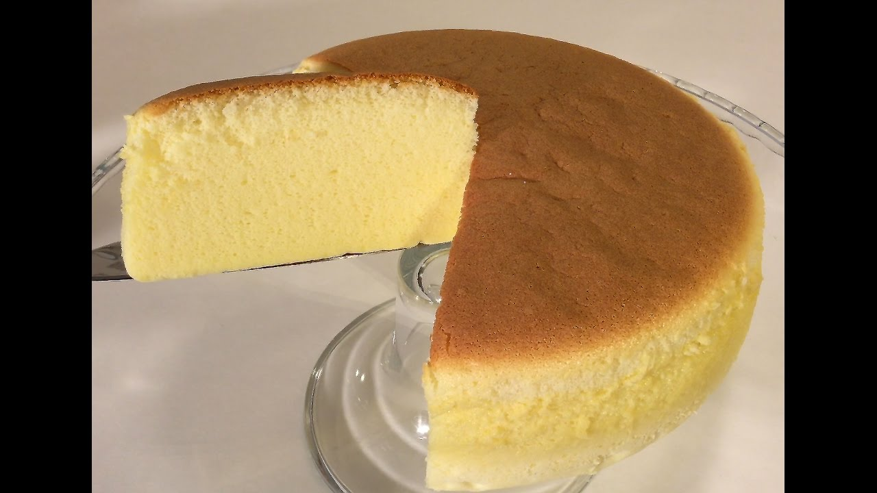 Japanese Sponge Cake Recipe Youtube: How To Make Cotton Cheesecake Japanese Food Recipes Asian