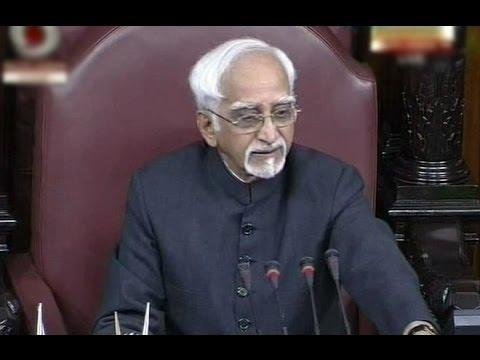Hamid Ansari's Full Emotional Speech - Rajya Sabha