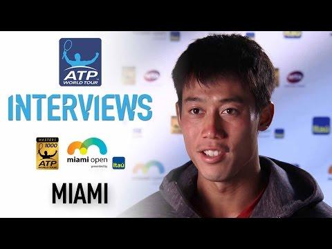 Nishikori Discusses Beating Delbonis In Miami 2017 4R