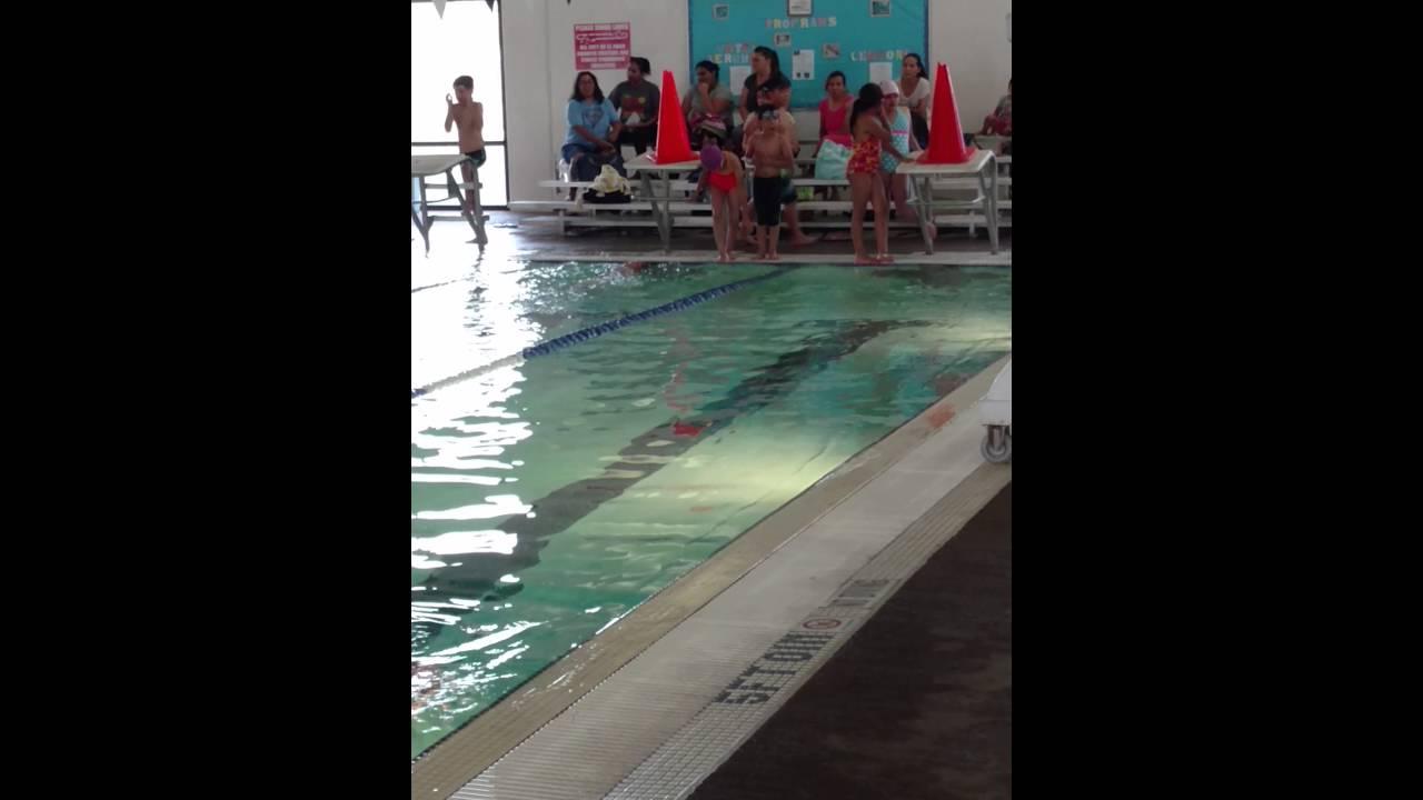 Sophie Swimming Relay At Memorial Pool El Paso Tx Youtube