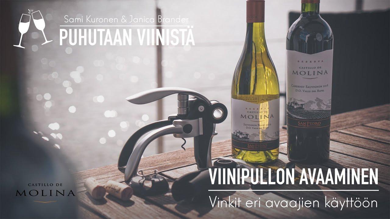 Viinipullon Avaaminen Ilman Avaajaa