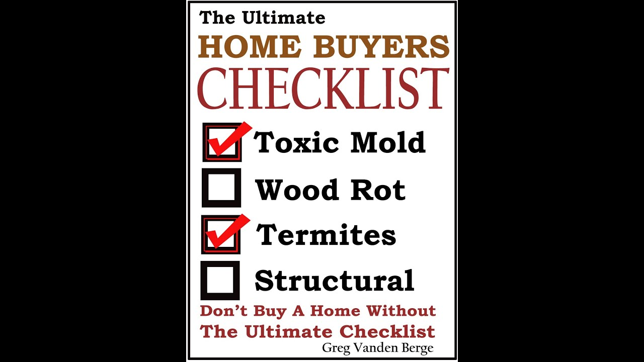 buyers home inspection checklist
